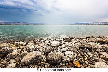 海, 風景, galilee