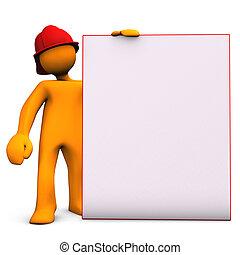 消防士, noticeboard