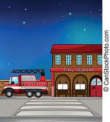 消防署, トラック