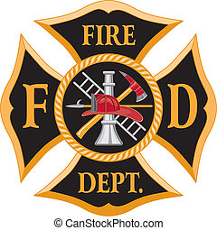 消防署, マルタ十字