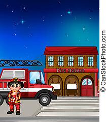 消防署, 消防士