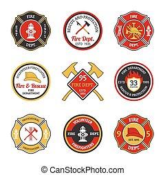 消防署, 紋章