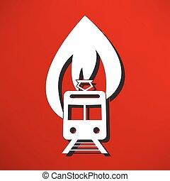 消防車, イラスト