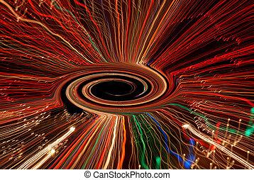 渦, ブラックホール