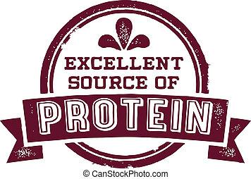 源, タンパク質, 優秀である