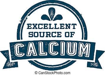 源, 優秀である, カルシウム