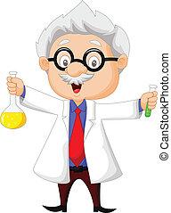 漫画, 保有物, 化学科学者