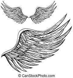 漫画, 天使翼