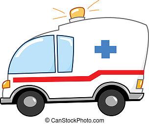 漫画, 救急車