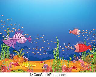漫画, 海洋