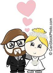 漫画, 結婚式