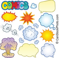 漫画, 1, 要素, コレクション