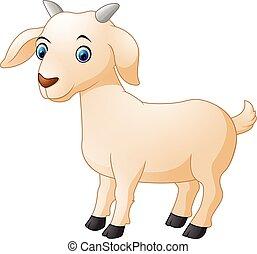 漫画, goat, かわいい