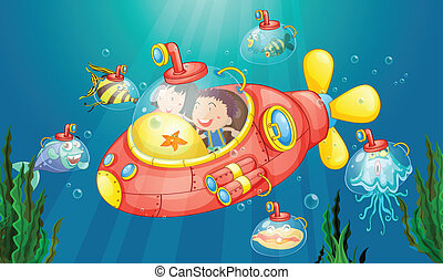 潜水艦, 冒険