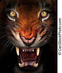 激い, tiger