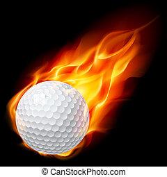 火球, ゴルフ