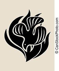 火, ロゴ, holyspirit