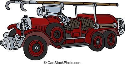 火, 型, トラック