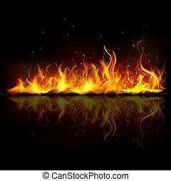火, 炎, 燃焼