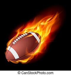 火, 現実的, アメリカン・フットボール