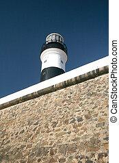 灯台, サルバドール, da, barra, 浜, bahia