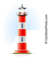 灯台, 海洋, シグナル