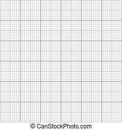 灰色, 格子, パターン, グラフ, seamless