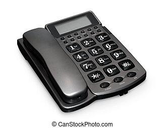 灰色, 電話
