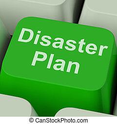 災害, 緊急事態, 保護, 計画, キー, 危機, ショー