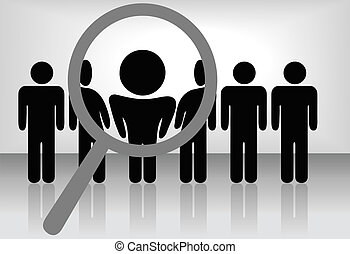 点検する, 掘り出し物, 雇用, ∥など∥, &, 捜索しなさい, ガラス, 拡大する, 人, 選びなさい, people:, 線, hire, selects, ∥あるいは∥, 認識, 昇進