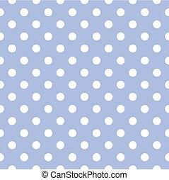 点, 青い背景, ベクトル, ポルカ