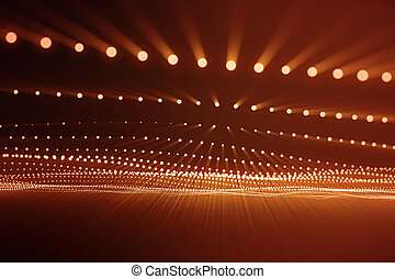 点, structure., hud., dots., 抽象的, ライン, lines., 波, polygonal, レンダリング, 接続, コンピュータ, 接続, 背景, flow., wave., 赤, 3d