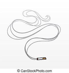 煙, タバコ