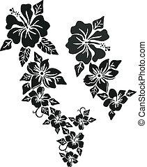 熱帯 花, 衣類