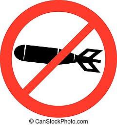爆弾, 割り当てられる, sign), 禁止, (not, アイコン