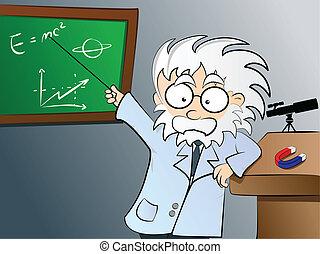 物理学, クラス教師