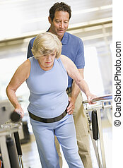 物理療法家, 患者, リハビリテーション