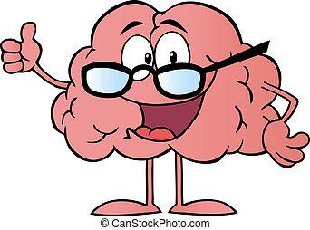 特徴, 身に着けていること, 脳, ガラス
