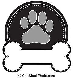 犬用の骨, 足