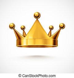 王冠, 隔離された