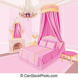 王女, 寝室