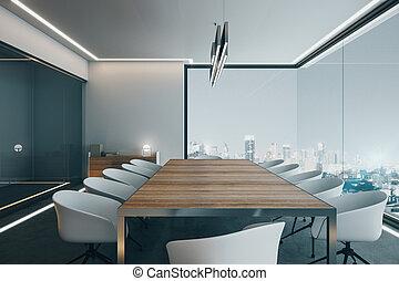 現代, 会議室