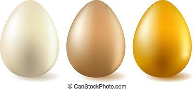 現実的, 3, 卵