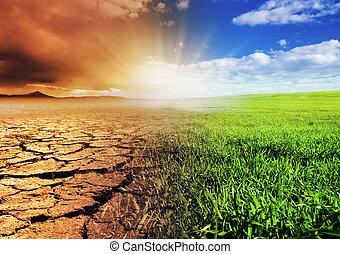 環境, 変化する