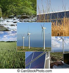 環境, 支持できる, エネルギー, イメージ