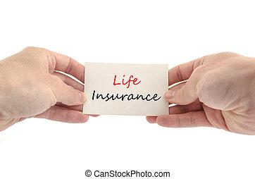 生活, 概念, テキスト, 保険