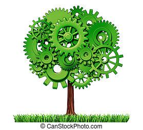 産業, 木, ビジネス, 成功
