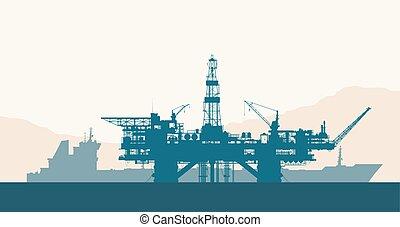 用具一式, タンカー, 油田採掘, 海