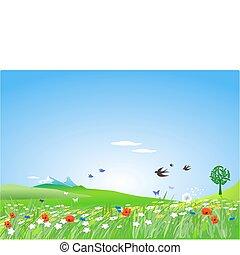 田舎, springlike