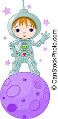 男の子, 宇宙飛行士